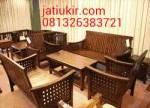 Kursi Tamu Jokowi Minimalis Anyam
