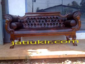 Bangku Sofa jati