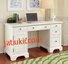 meja kantor mahoni