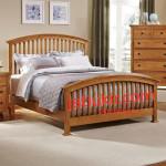 Tempat Tidur Minimalis Jari Jari Lengkung