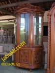 Almari Pajangan -Mawar Karya Furniture Jepara