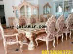 Set kursi Makan Mewah Italian furniture