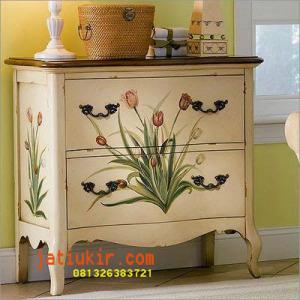 meja-vintage-bunga-lili