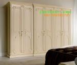 Almari Pakaian Larissa 6 Pintu Cat Duco  Karya Furniture jepara