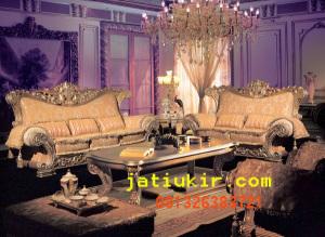 kursi tamu sofa mewah set itali karya furniture jepara